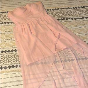 Jordan bridesmaid dress size 12 high low hem